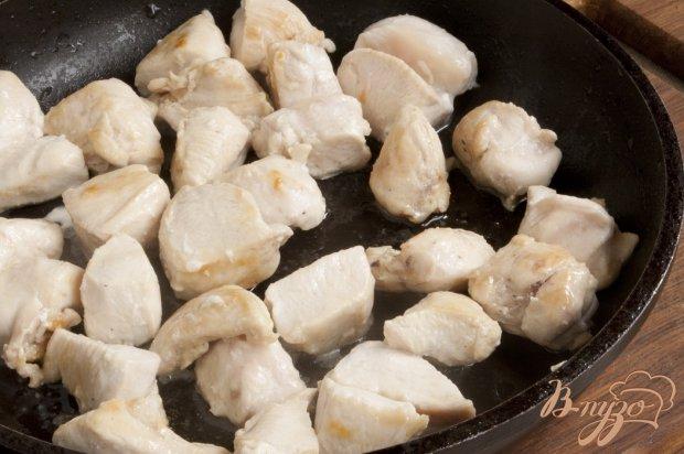 Соте из куриного филе