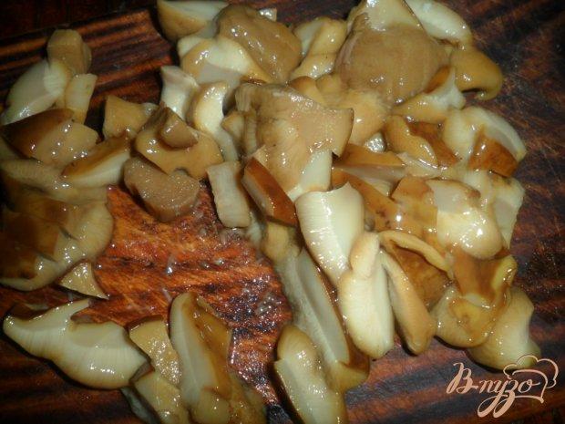 Закусночный кекс с грибами