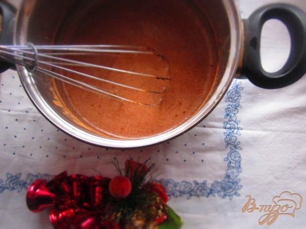 Рождественский пудинг с манно-заварным кремом