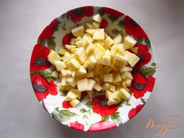 Лимонно-яблочные оладьи