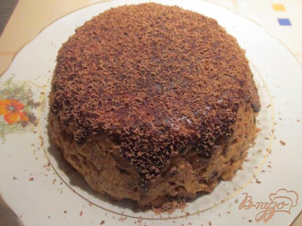 """Торт """"Муравейник"""" в шоколадной глазури"""