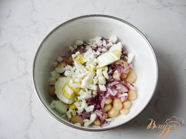 Салат с фасолью и индейкой