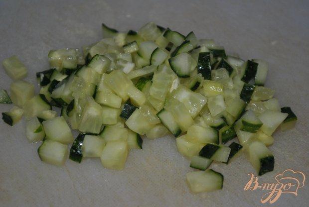 Оливье с креветками