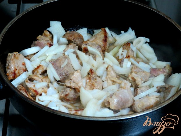 Свинина в остром пряном соусе