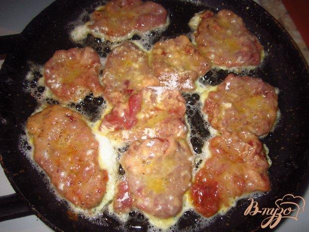 Мини отбивные с куриных сердец в соевом соусе