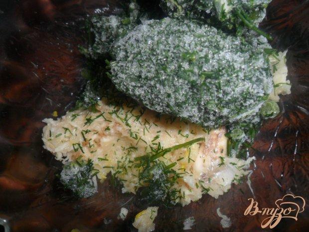Блинчики на рассоле с чесночным соусом к борщу