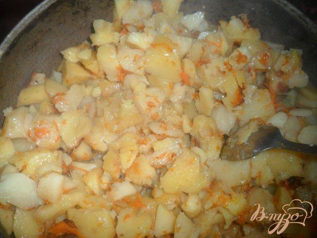 Тушеный картофель с салом
