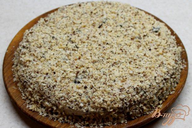Ореховый торт с заварным кремом