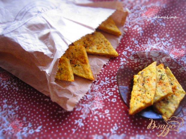 Соленое картофельное печенье