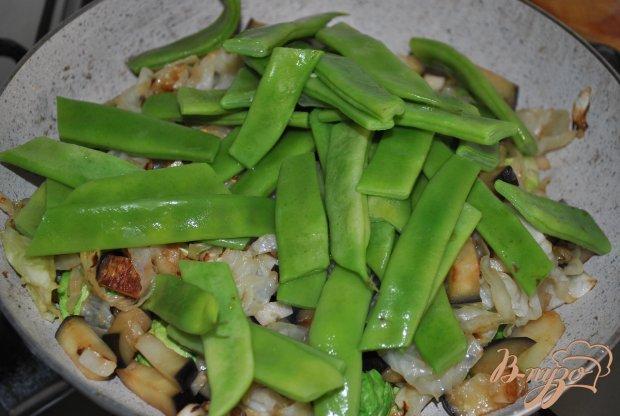 Овощной гарнир с брюссельской капустой