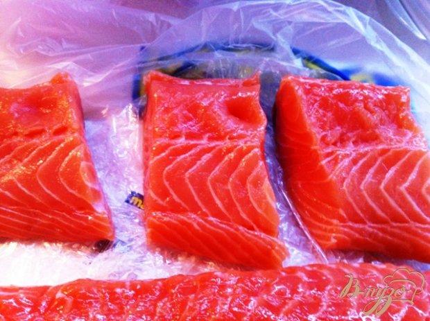 Филе лосося  запеченное в фольге