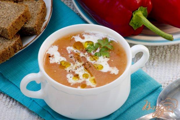 Монастырский суп-пюре из томатов