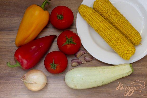 Рагу с кукурузой