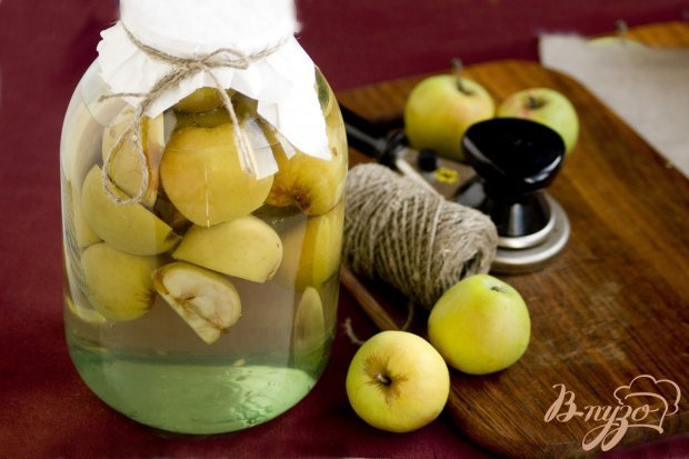 Яблочный компот на зиму