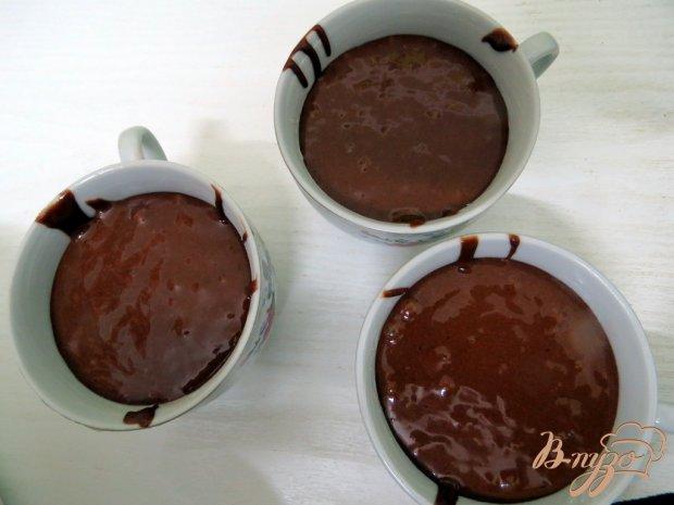 Шоколадный кекс пятиминутка