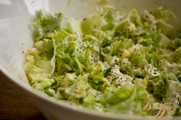 Салат с яйцами и каперсами