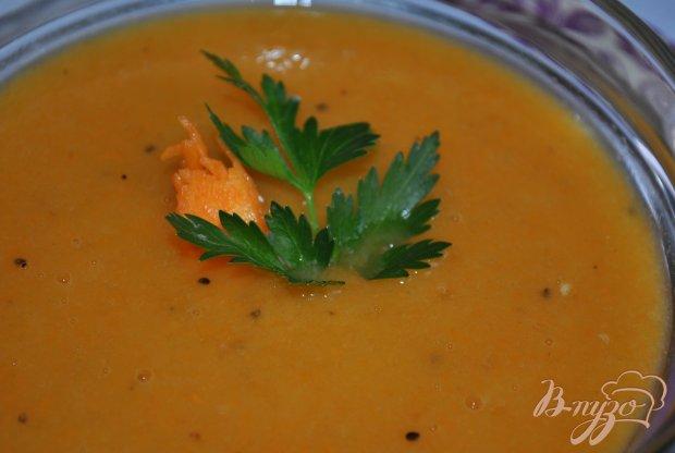 Сладкий крем-суп из тыквы