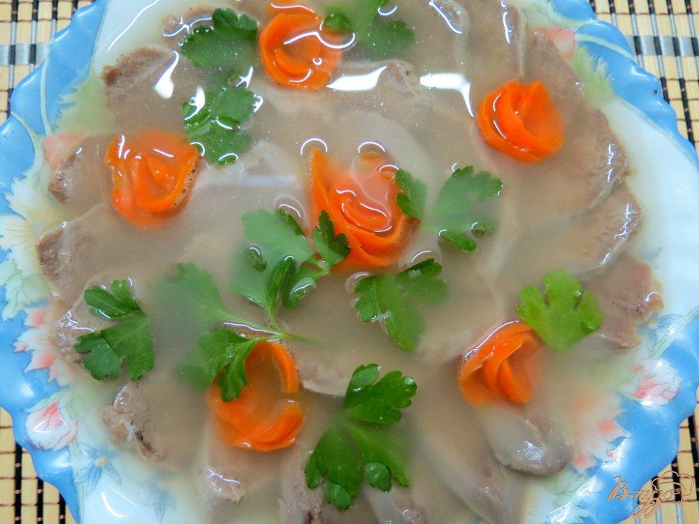 Фото приготовление рецепта: Язык заливной шаг №5