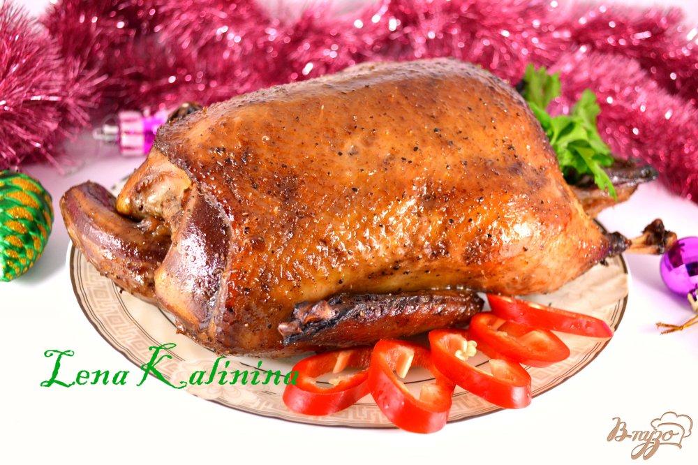 Фото приготовление рецепта: Утка по-пекински шаг №8