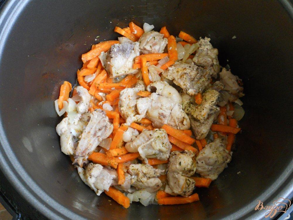 каша с курицей в автоклаве рецепты