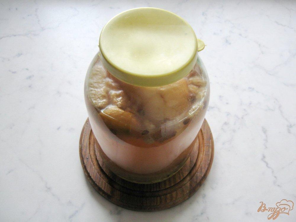 Фото приготовление рецепта: Квас из пшена. шаг №5