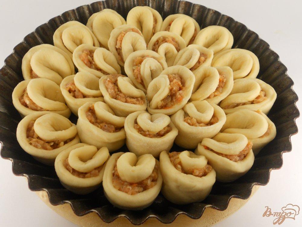 Пироги с капустой с мясом из дрожжевого теста рецепты с