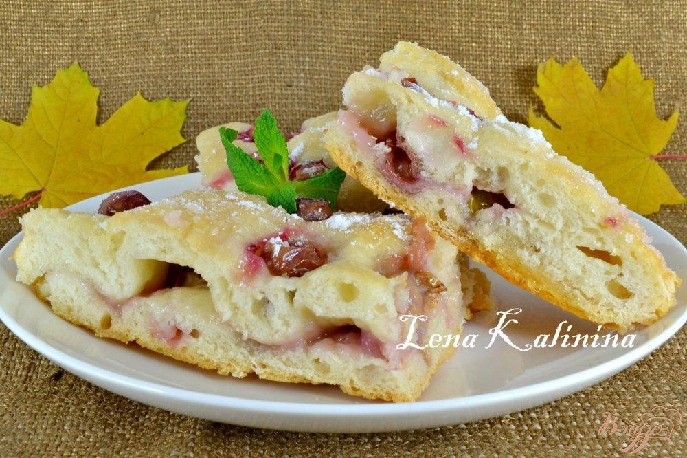 Фото приготовление рецепта: Скьяччата с виноградом шаг №8