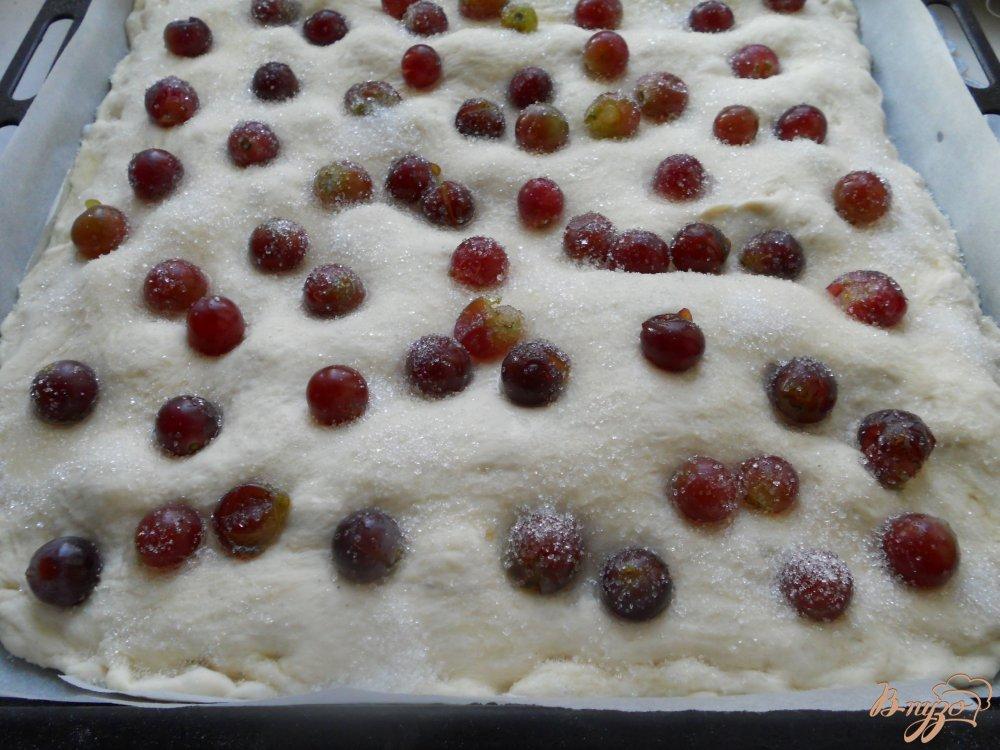 Фото приготовление рецепта: Скьяччата с виноградом шаг №6