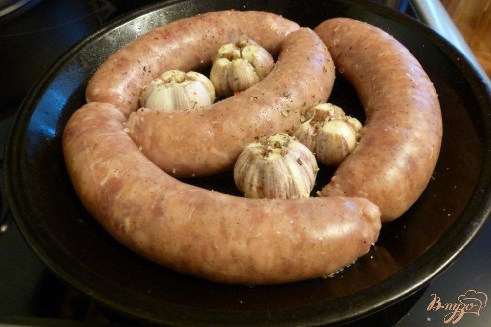 Фото приготовление рецепта: Домашние колбаски с чесночным паштетом шаг №1