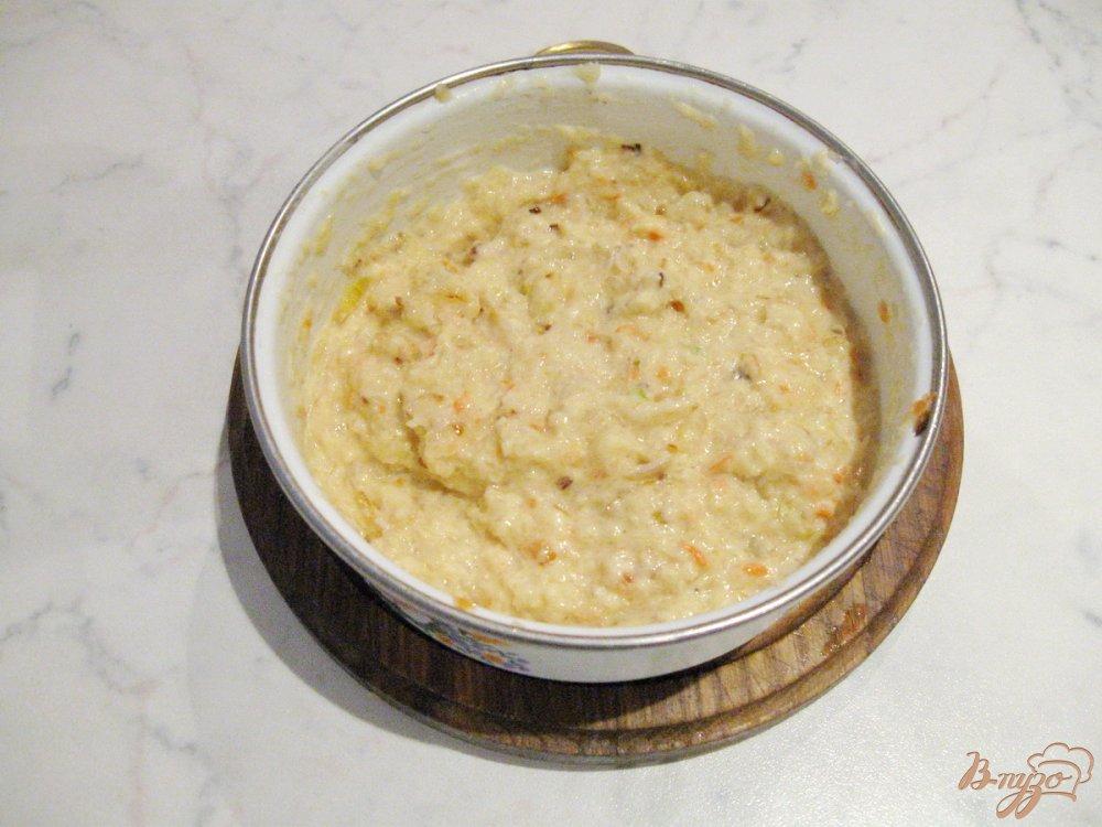 Фото приготовление рецепта: Оладьи из квашеной капусты. шаг №5