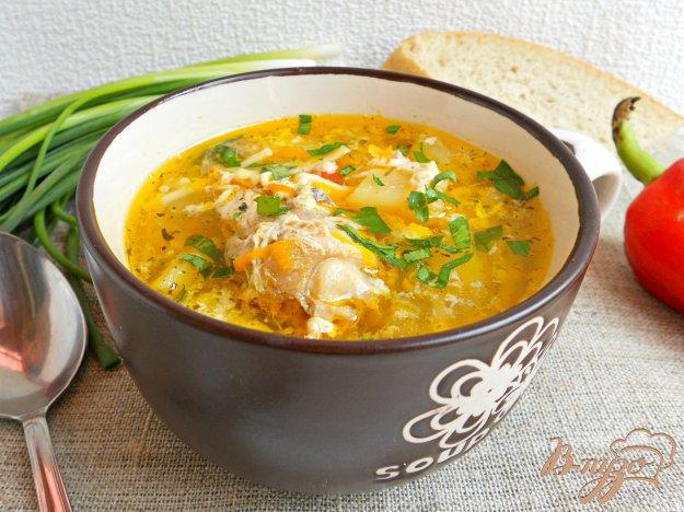 Суп с вареными яйцами рецепт с фото