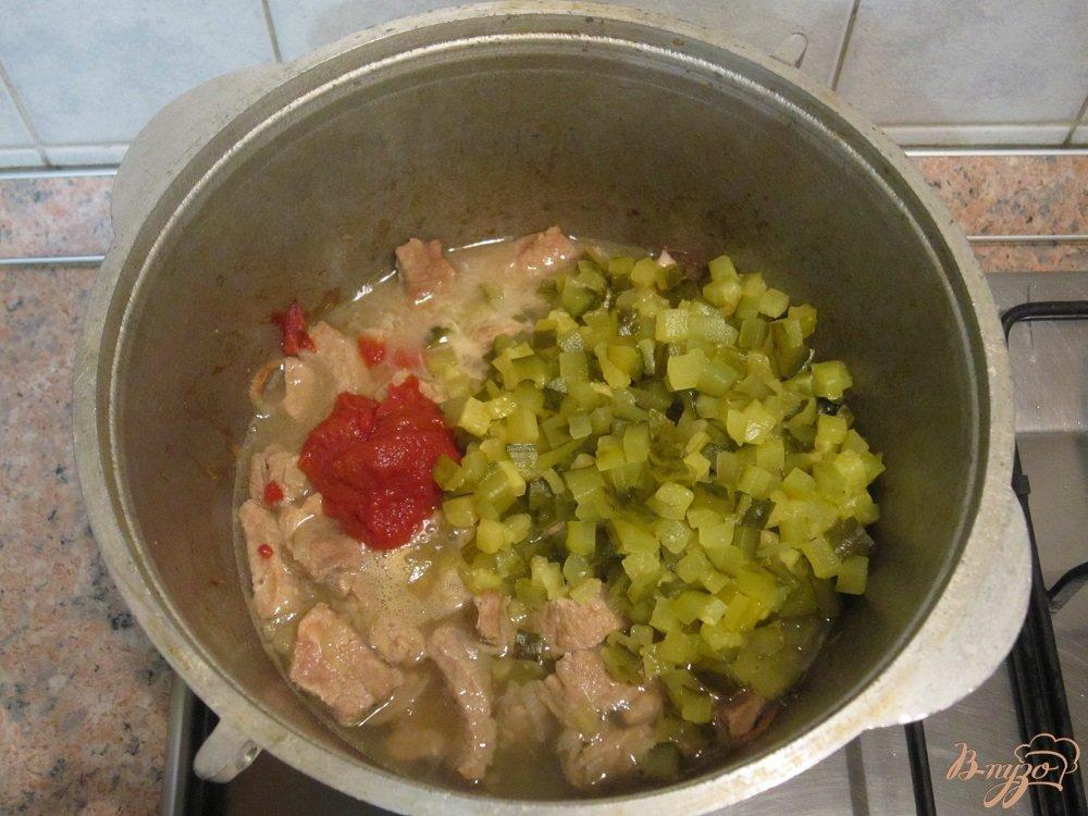 Фото приготовление рецепта: Азу по-татарски шаг №6