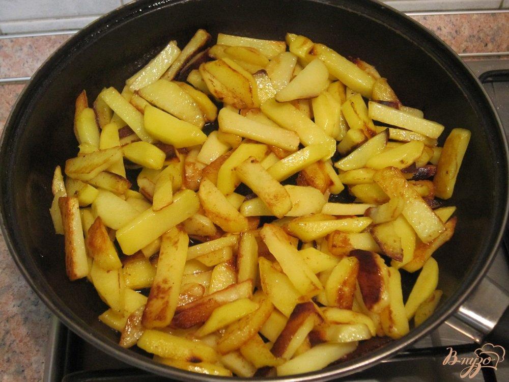 Фото приготовление рецепта: Азу по-татарски шаг №8