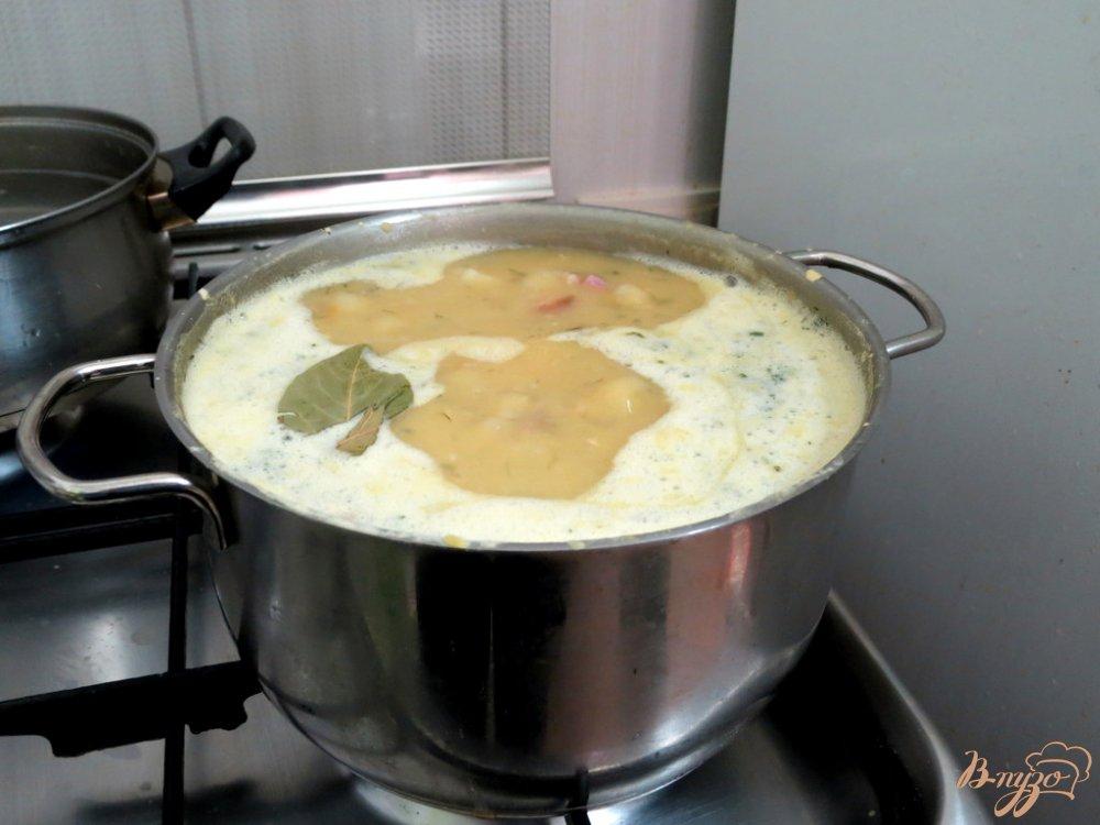 Фото приготовление рецепта: Гороховый суп от бабушки шаг №4