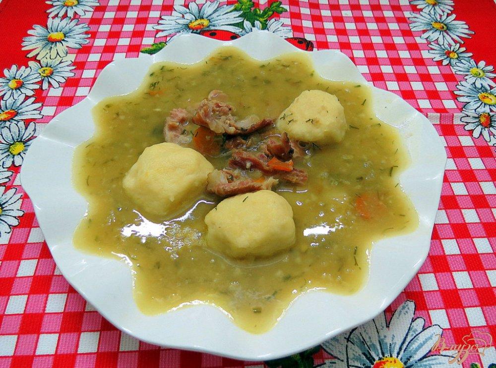 Фото приготовление рецепта: Гороховый суп от бабушки шаг №9