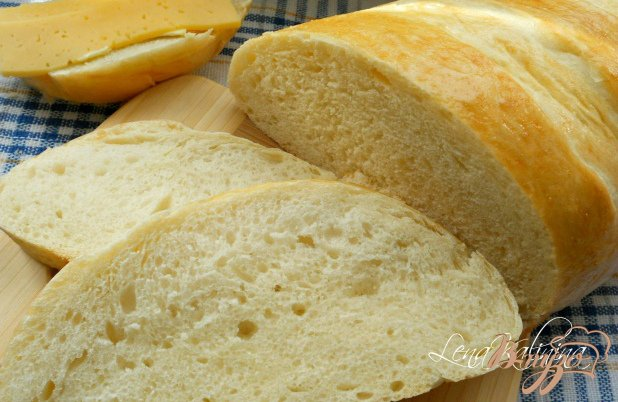 фото рецепта: Батон «Семейный» в хлебопечке