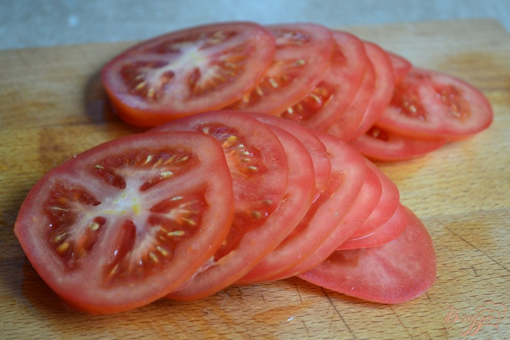 Фото приготовление рецепта: Салат с рукколой и овощами шаг №3