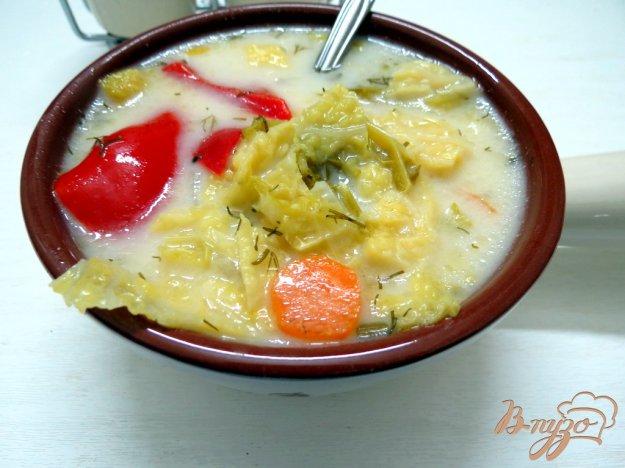 фото рецепта: Суп с савойской капустой