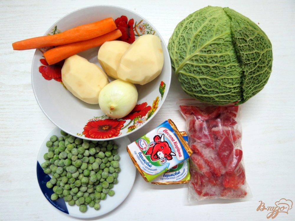 Фото приготовление рецепта: Суп с савойской капустой шаг №1
