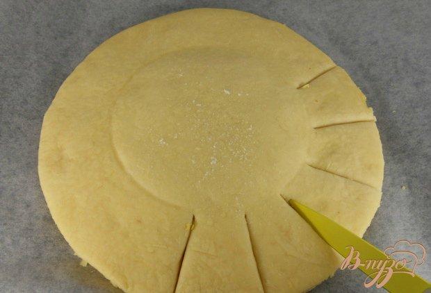 """Пирог """"Подсолнух"""" с мясом и сыром"""