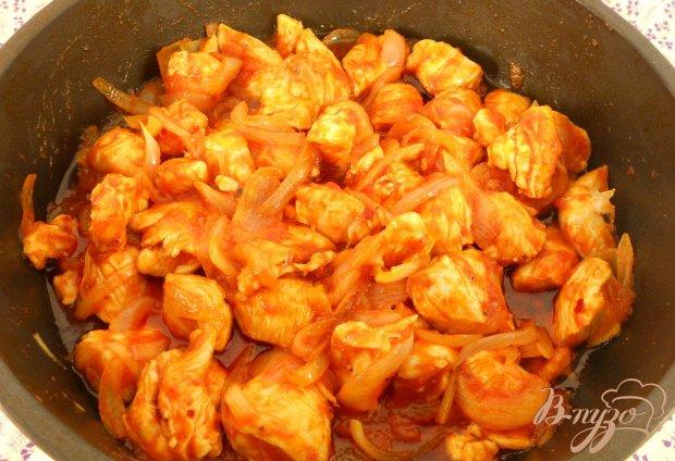 Горячая закуска «Салат Шашлычный»