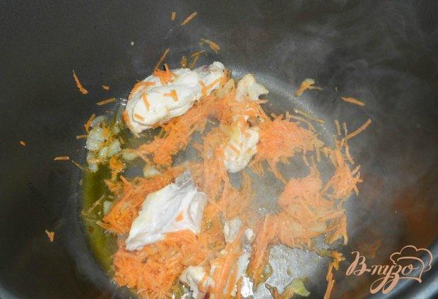 Суп с плавленным сыром и курицей в мультиварке