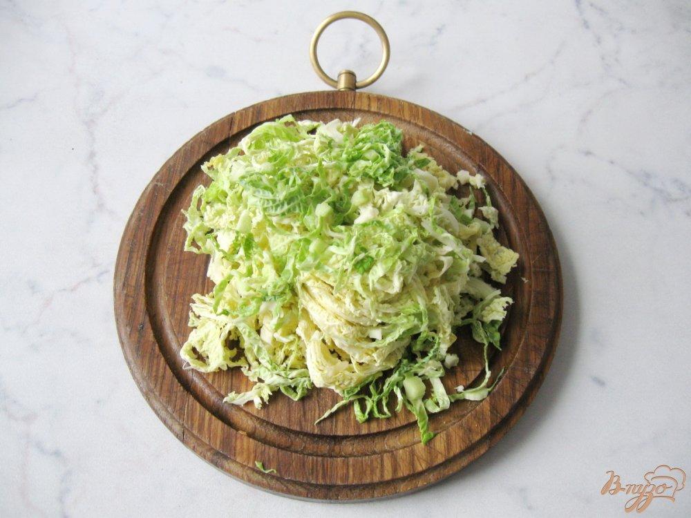 Фото приготовление рецепта: Суп из савойской капусты с грибами. шаг №2