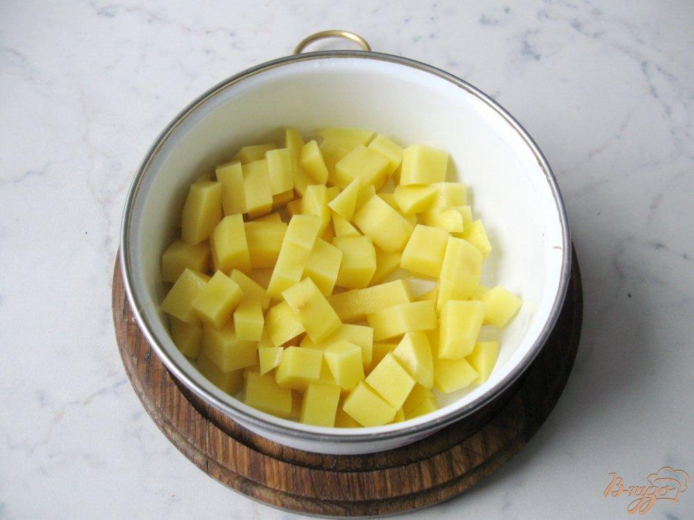 Фото приготовление рецепта: Суп из савойской капусты с грибами. шаг №1