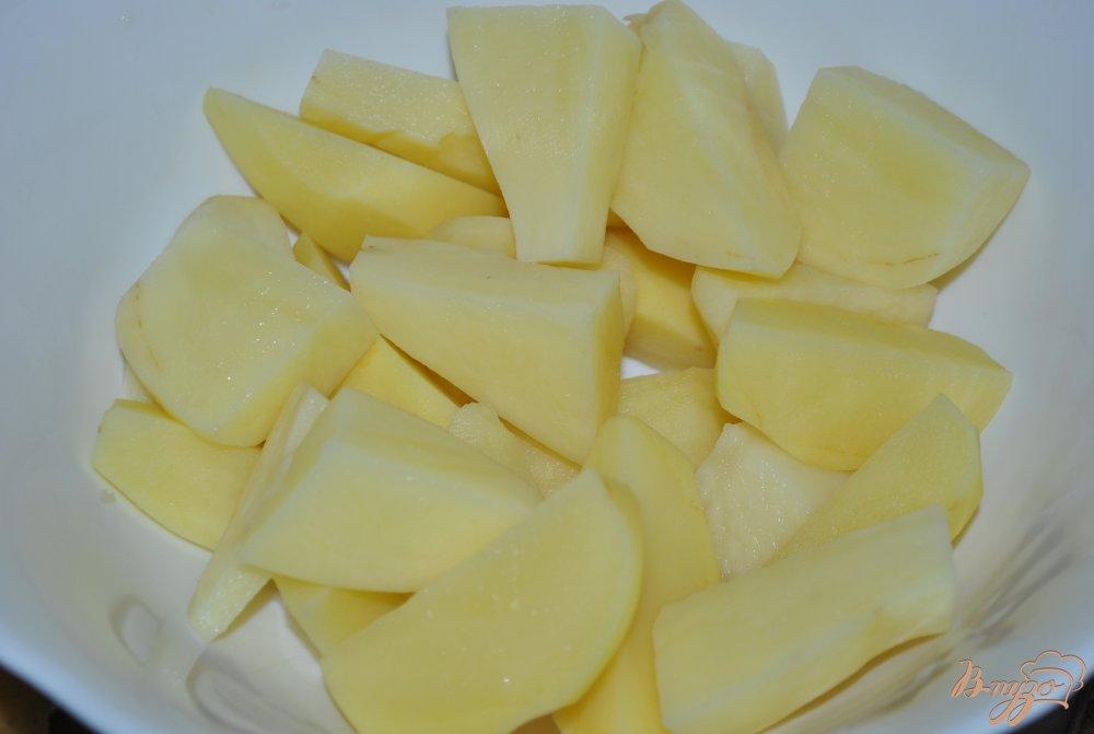 Фото приготовление рецепта: Овощное рагу шаг №1