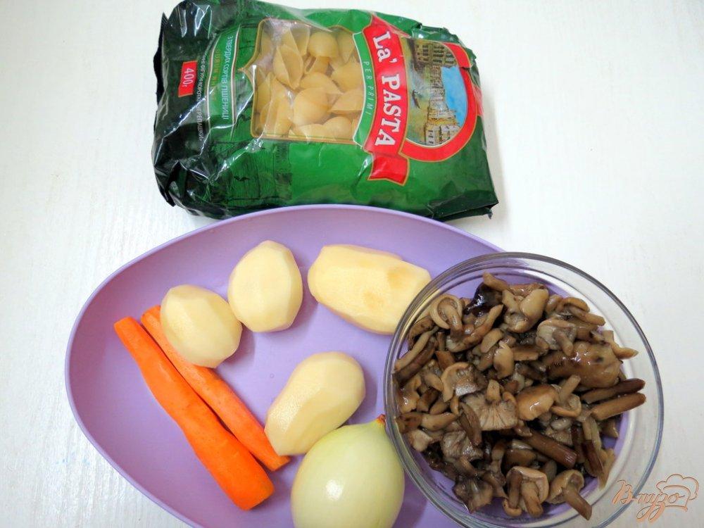 Фото приготовление рецепта: Суп из опят шаг №1