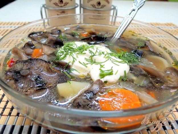 фото рецепта: Суп из опят