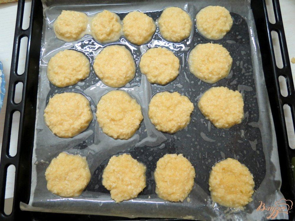 Фото приготовление рецепта: Печенье кокосанки шаг №7