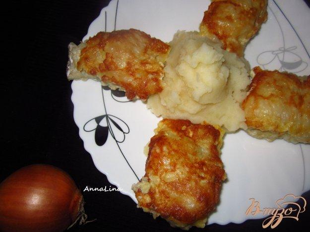 фото рецепта: Минтай жареный в горчице