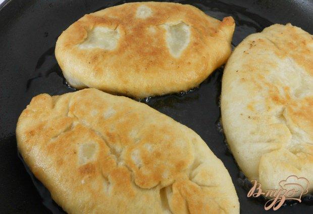 Пирожки жаренные из заварного дрожжевого теста
